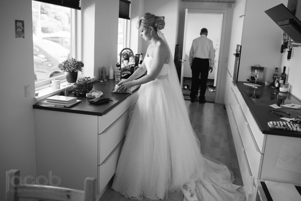Forberedelse - Bryllup i Aalborg - Bryllupsfotograf