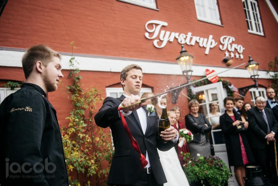 Bryllup på Tyrstrup Kro