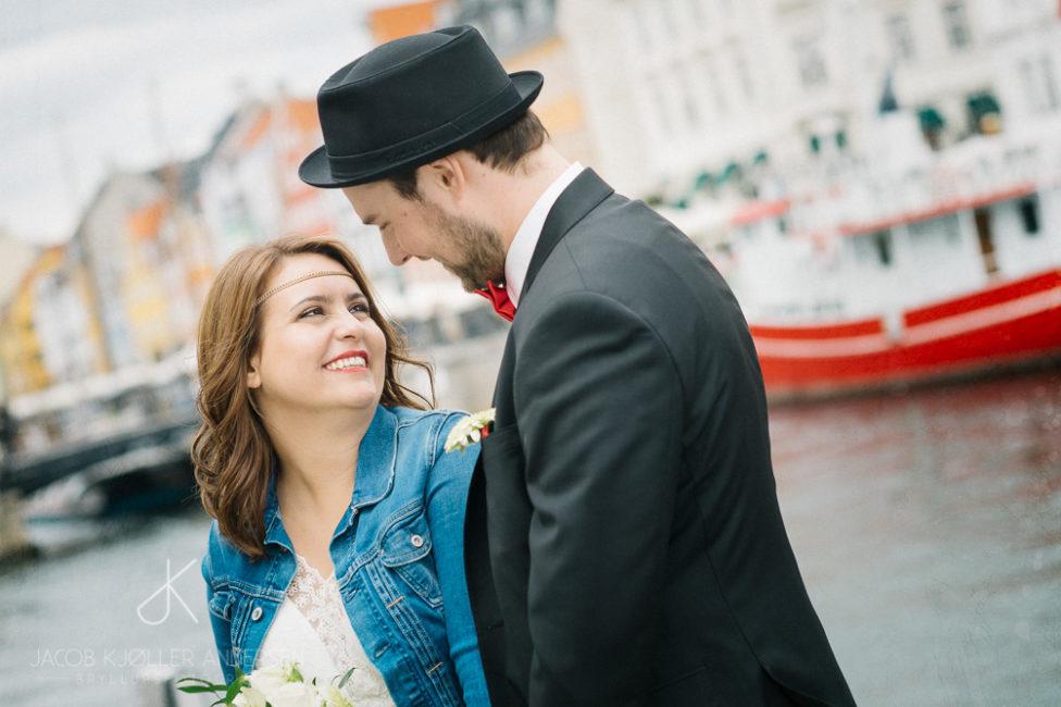 Bryllup Nyhavn København